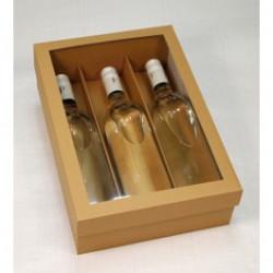 Dárková krabice na 3 lahve...